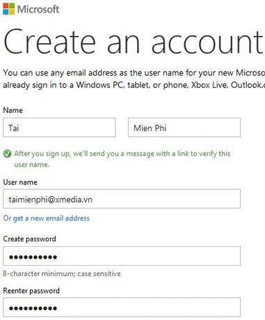 Tai nghe của Microsoft.