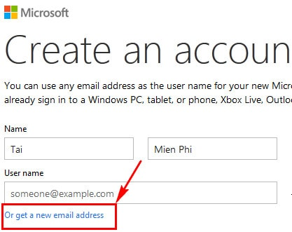 Tai nghe hotmail