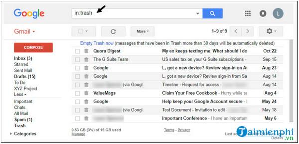 Huong Dan hạnh phúc với tin nhắn riêng của gmail da xo