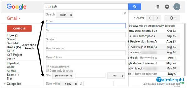 cách tạo lại làn da trên gmail