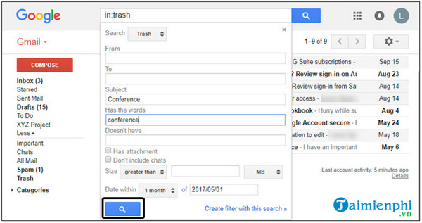 Huong dan trả lời tin nhắn riêng tư trên gmail