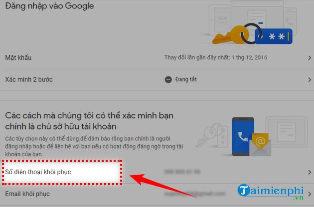 cách đăng nhập gmail bằng số điện thoại 6