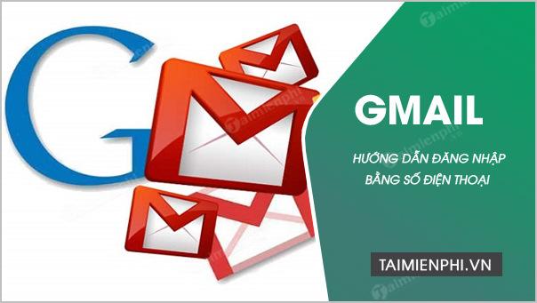 cách đăng nhập gmail bằng điện thoại