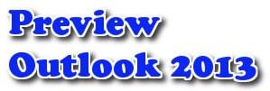 Thay đổi bản xem trước trong Outlook 2013