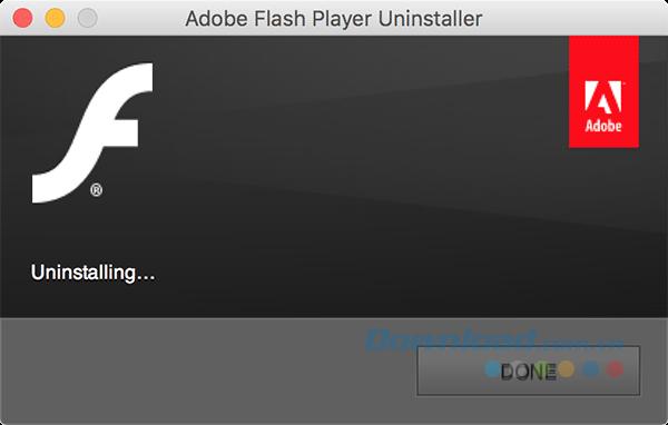 Adobe Flash đã bị xóa