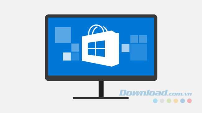 Chỉ có thể tải và cài đặt ứng dụng từ Windows Store