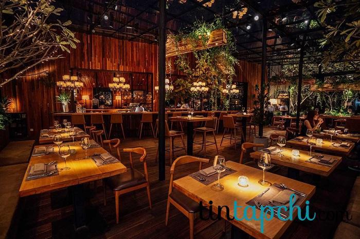 The Log, GEM Center - nhà hàng có không gian siêu đẹp