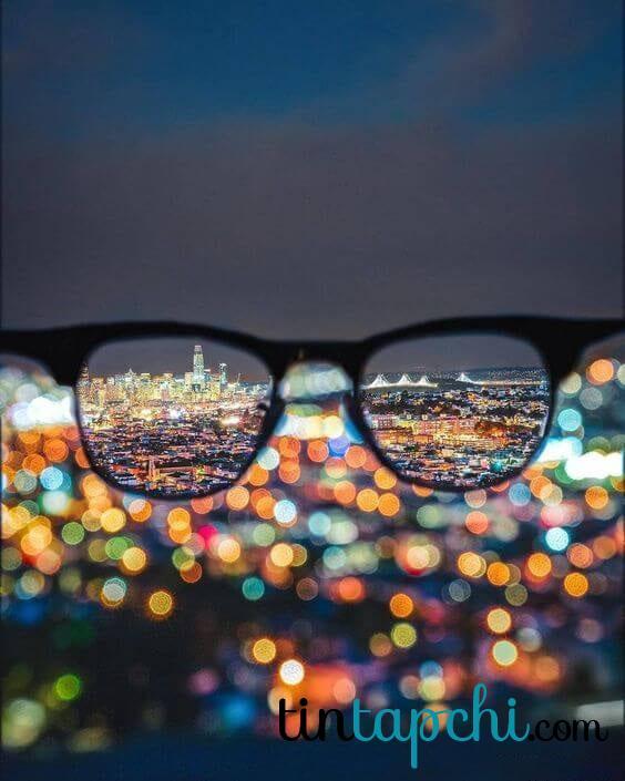 Hình ảnh ánh sáng Bokeh