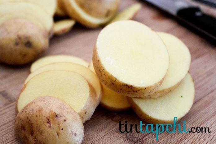 Tinh bột khoai tây giúp giảm độ mặn