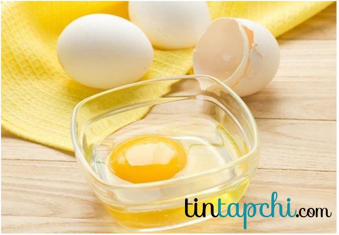 Lòng trắng trứng cũng giúp giảm độ mặn