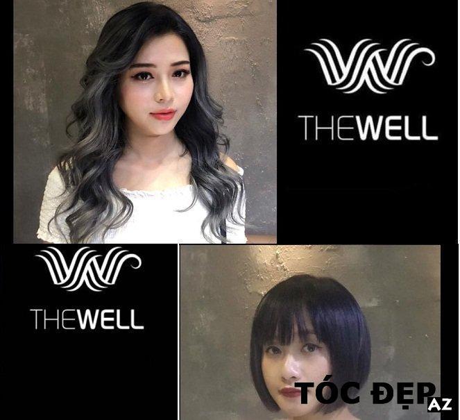 Những kiểu tóc đẹp được thực hiện tại salon tóc The Well