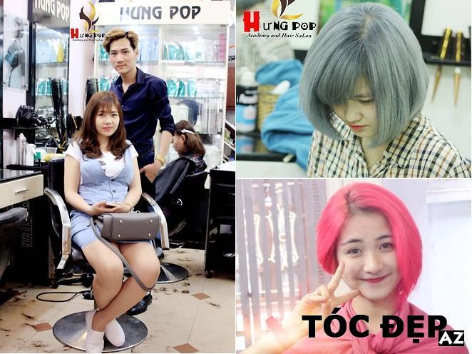 Tạo kiểu tóc tại Hung Pop