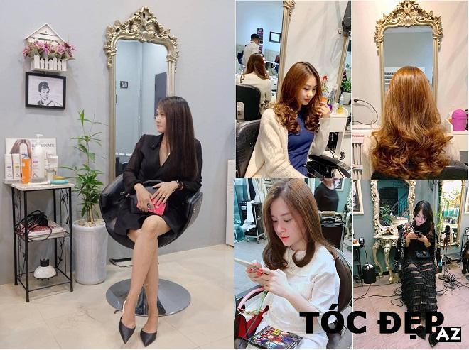 Sắp xếp trang trí theo phong cách bên trong salon Terre