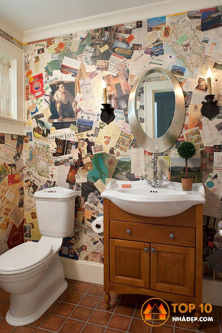 Làm thế nào để trang trí ngôi nhà của bạn với tờ báo cũ? 2