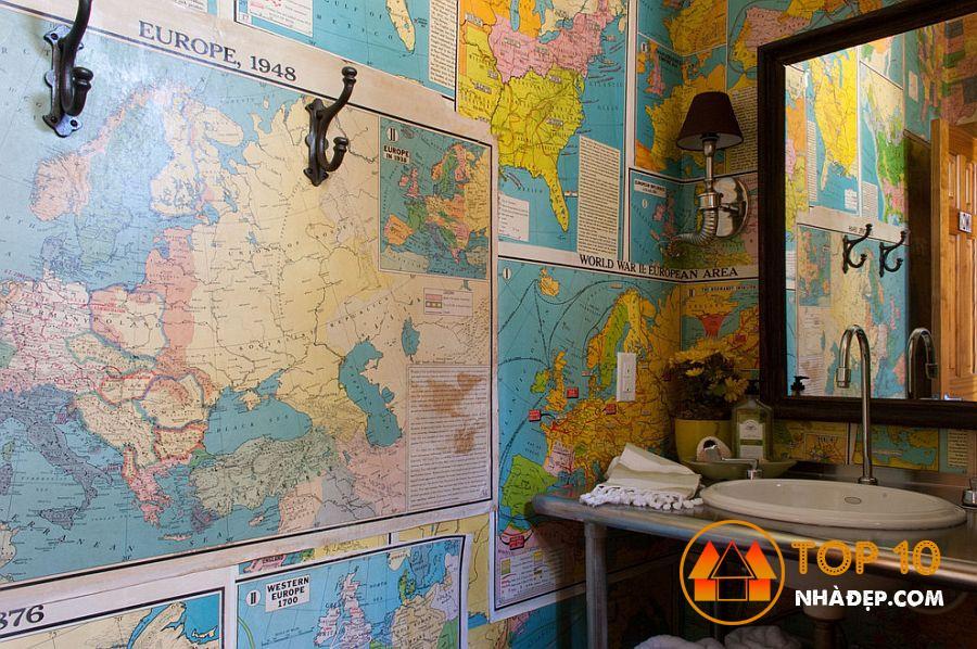 Làm thế nào để trang trí ngôi nhà của bạn với tờ báo cũ? 6