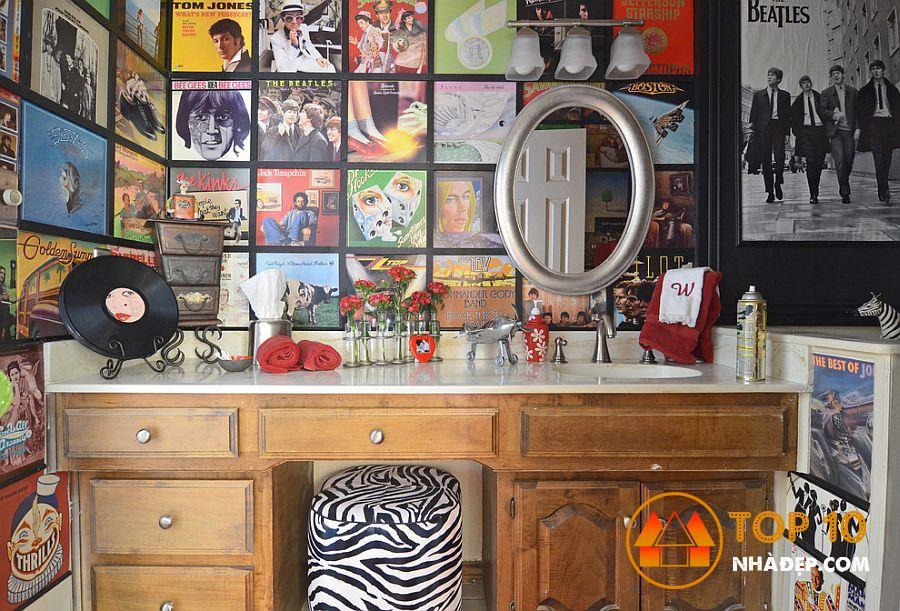 Làm thế nào để trang trí ngôi nhà của bạn với tờ báo cũ? 9
