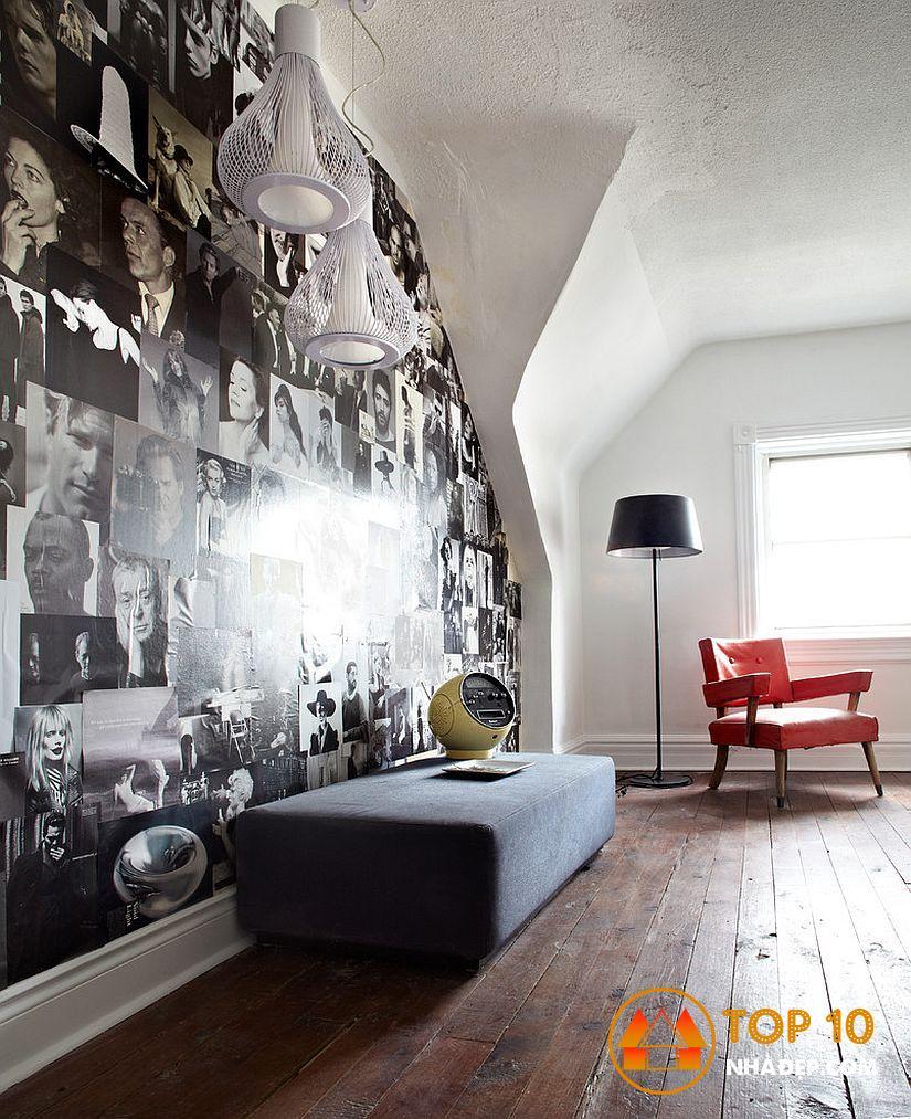 Làm thế nào để trang trí ngôi nhà của bạn với tờ báo cũ? mười