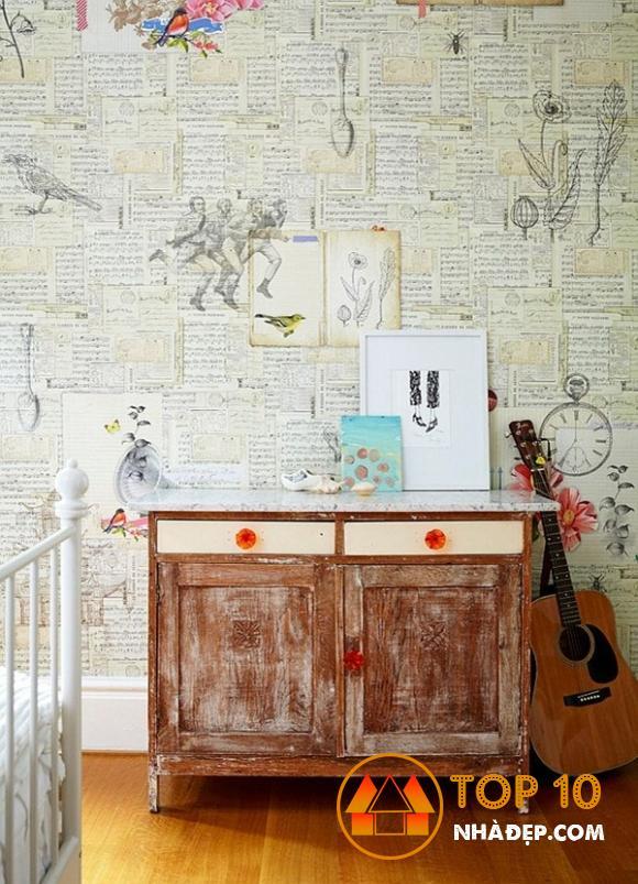 Làm thế nào để trang trí ngôi nhà của bạn với tờ báo cũ? 11