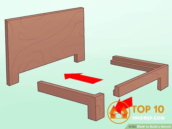 Làm một chiếc ghế gỗ đơn giản cho gia đình 9