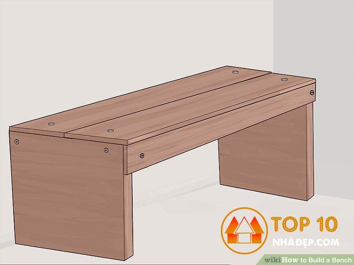 Làm một chiếc ghế gỗ đơn giản cho gia đình 17