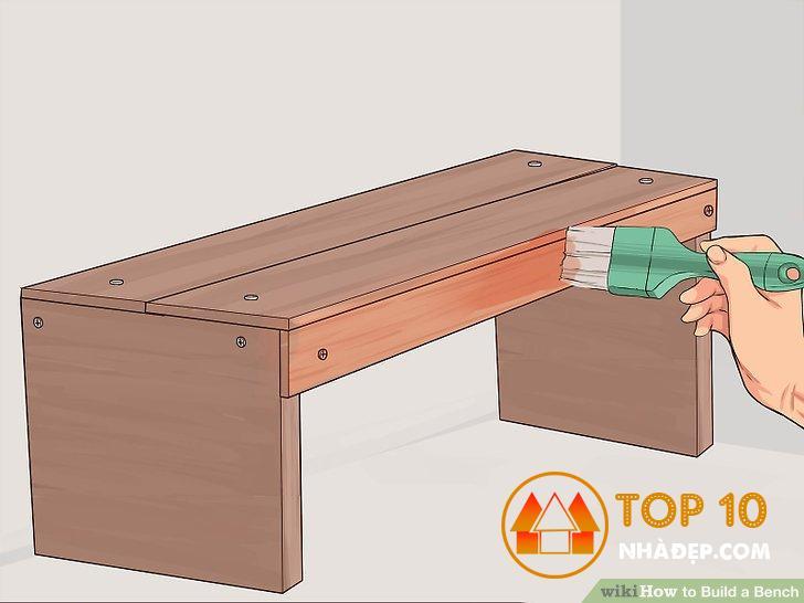 [Review] Tự làm một ghế băng dài bằng gỗ đơn giản cho gia đình