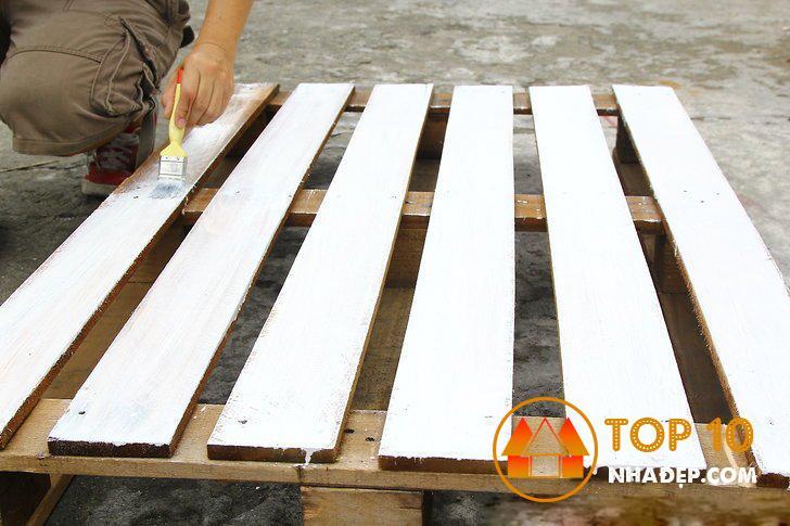 Cách làm giường pallet gỗ cực kỳ DỄ DÀNG 2