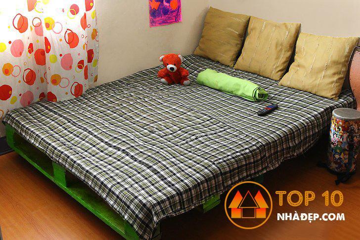 Cách làm giường pallet gỗ cực kỳ DỄ DÀNG 6