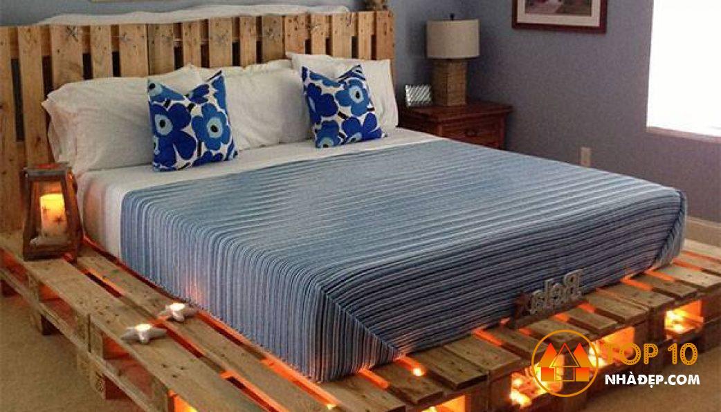 [Review] Cách đóng giường bằng gỗ pallet CỰC DỄ