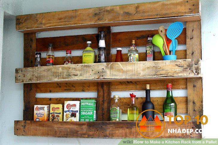 [Review] Tự làm kệ đựng đồ đơn giản trong nhà bếp siêu tiết kiệm