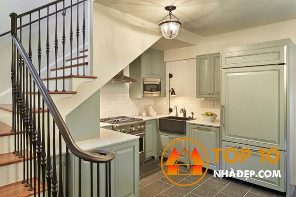 Hơn 100 ý tưởng thiết kế nhà bếp dưới một cầu thang đẹp 14