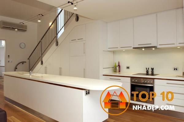 Hơn 100 ý tưởng thiết kế nhà bếp dưới một cầu thang đẹp 15