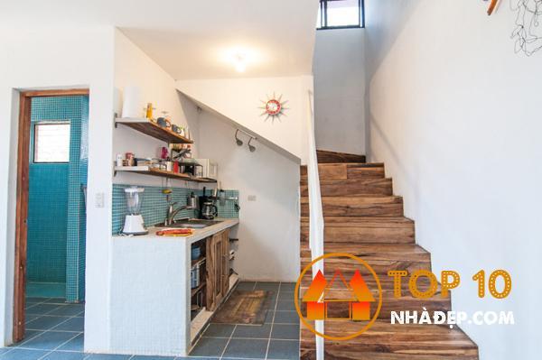 Hơn 100 ý tưởng thiết kế nhà bếp dưới một cầu thang đẹp 16