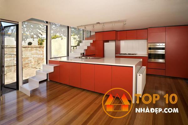 Hơn 100 ý tưởng thiết kế nhà bếp dưới một cầu thang đẹp 17