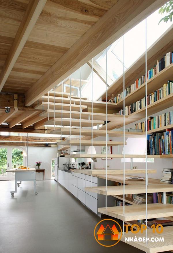 Hơn 100 ý tưởng thiết kế nhà bếp dưới một cầu thang đẹp 19