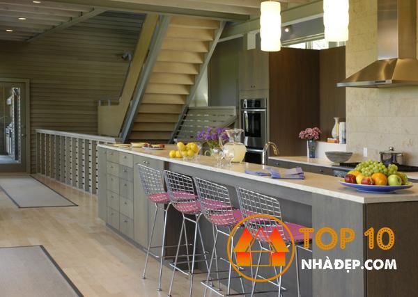 Hơn 100 ý tưởng thiết kế nhà bếp dưới một cầu thang đẹp 21
