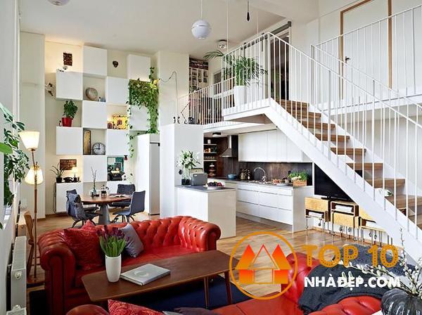 Hơn 100 ý tưởng thiết kế nhà bếp dưới một cầu thang đẹp 20
