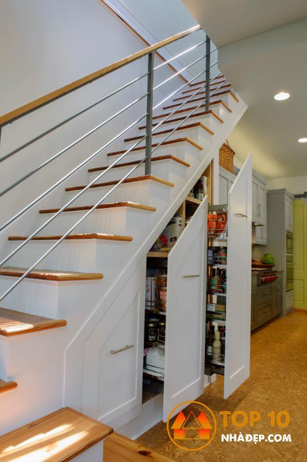 Hơn 100 ý tưởng thiết kế nhà bếp dưới một cầu thang đẹp 23
