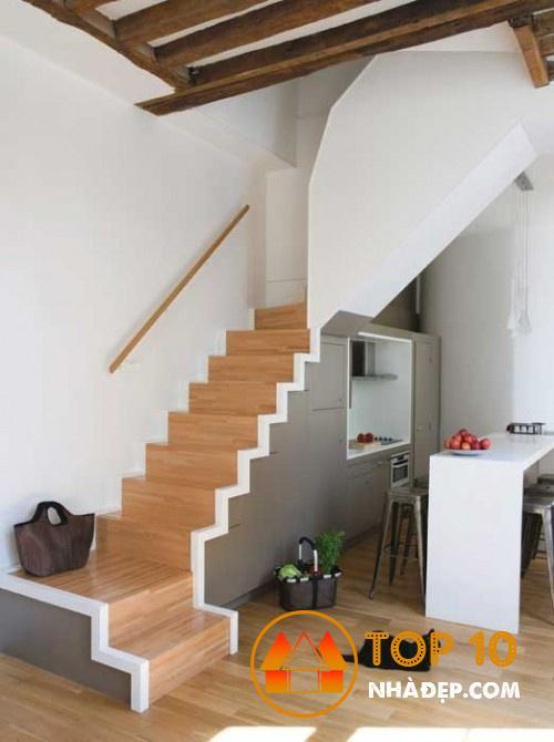 Hơn 100 ý tưởng thiết kế nhà bếp dưới một cầu thang đẹp 26