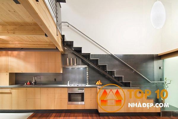 Hơn 100 ý tưởng thiết kế nhà bếp dưới một cầu thang đẹp 33