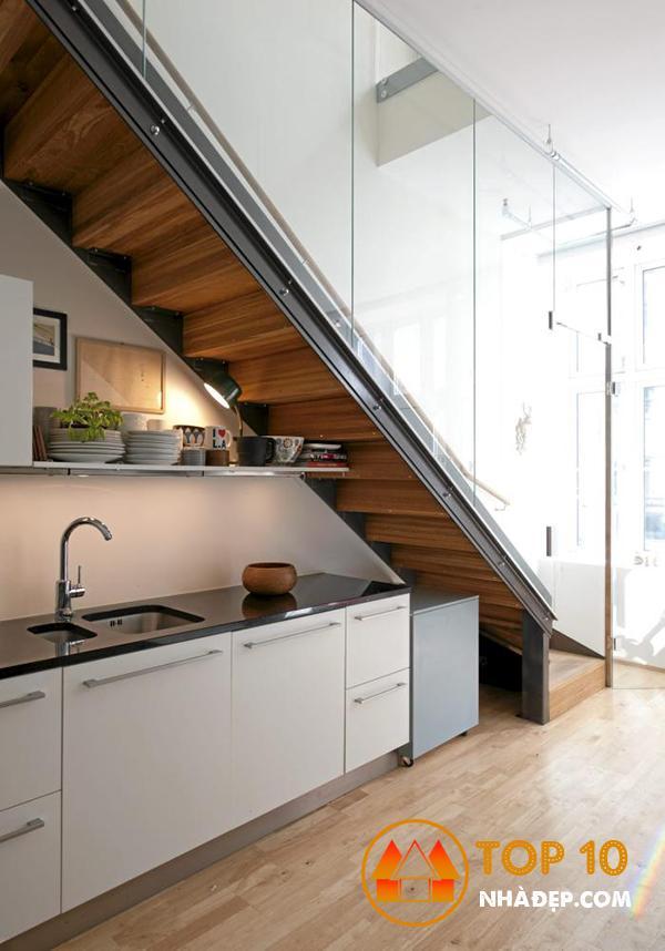 Hơn 100 ý tưởng nhà bếp dưới một cầu thang đẹp 32