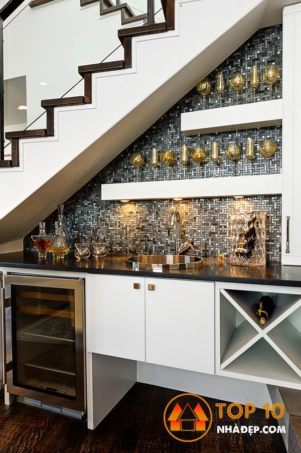 Hơn 100 ý tưởng thiết kế nhà bếp dưới một cầu thang đẹp 29