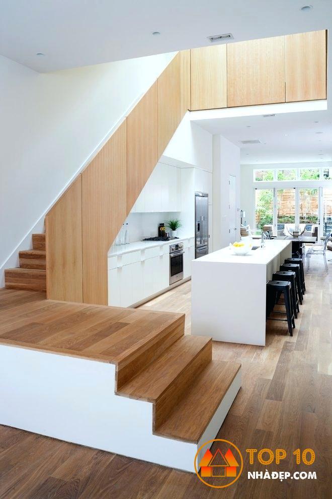 Hơn 100 ý tưởng thiết kế nhà bếp dưới một cầu thang đẹp 34