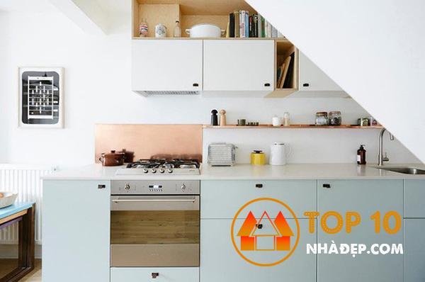 Hơn 100 ý tưởng thiết kế nhà bếp dưới một cầu thang đẹp 28