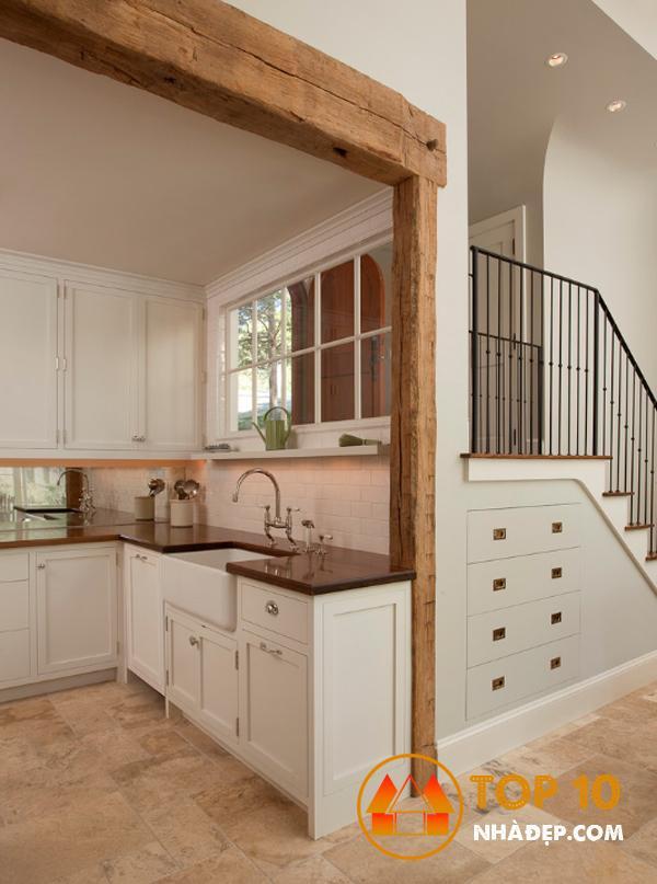 Hơn 100 ý tưởng thiết kế nhà bếp dưới một cầu thang đẹp 27