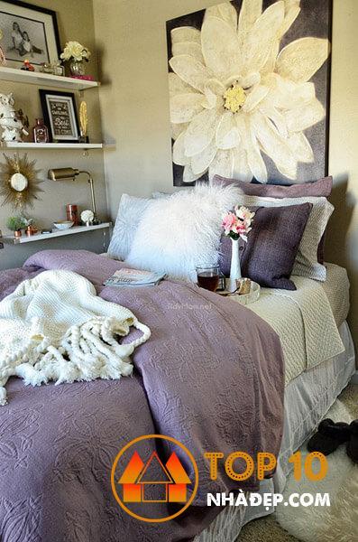 Hơn 80 ý tưởng trang trí phòng ngủ nhỏ, hoàn hảo thu hút mọi ánh nhìn 36