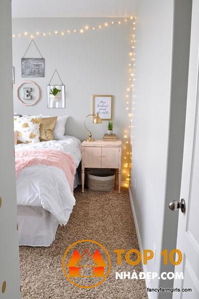 Hơn 80 ý tưởng trang trí phòng ngủ nhỏ, hoàn hảo thu hút mọi ánh nhìn 47