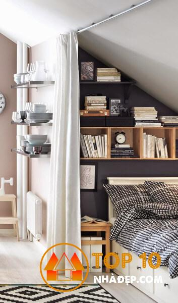 Hơn 80 ý tưởng trang trí phòng ngủ nhỏ, hoàn hảo thu hút mọi ánh nhìn 78