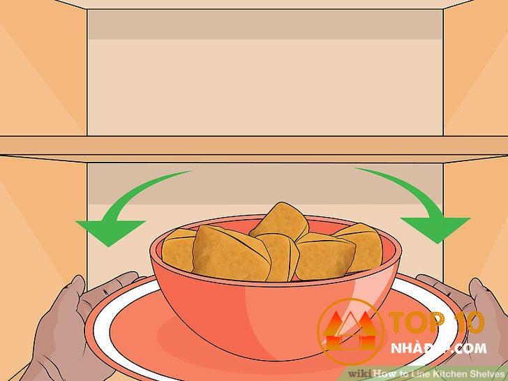 Cách trang trí tủ bếp đẹp, đơn giản và tiết kiệm 4