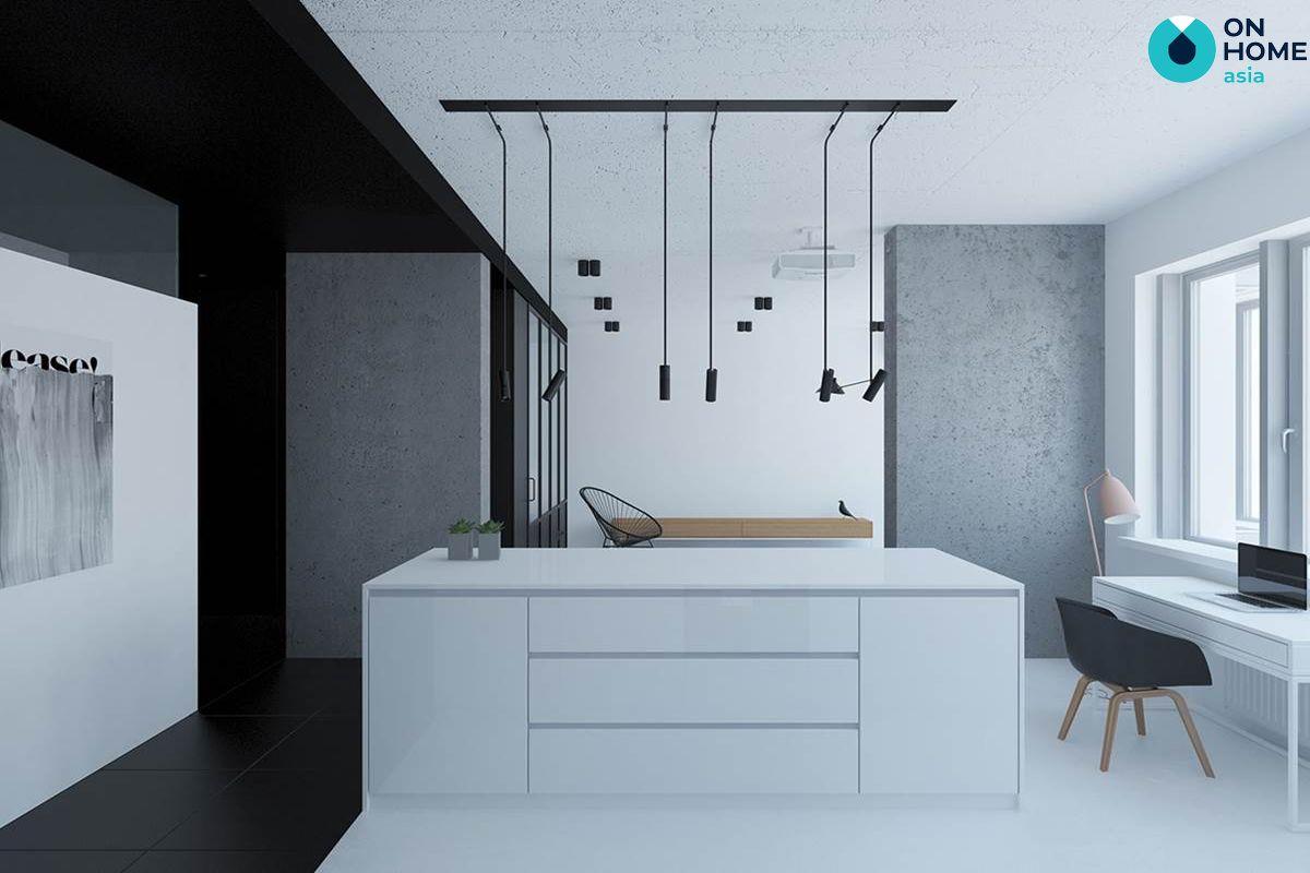 Gam màu phù hợp với nội thất tối giản