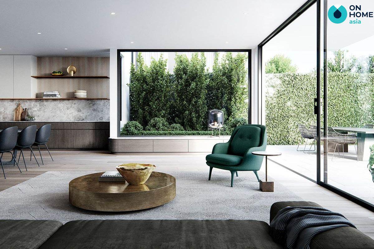 Ánh sáng cho không gian nội thất tối giản